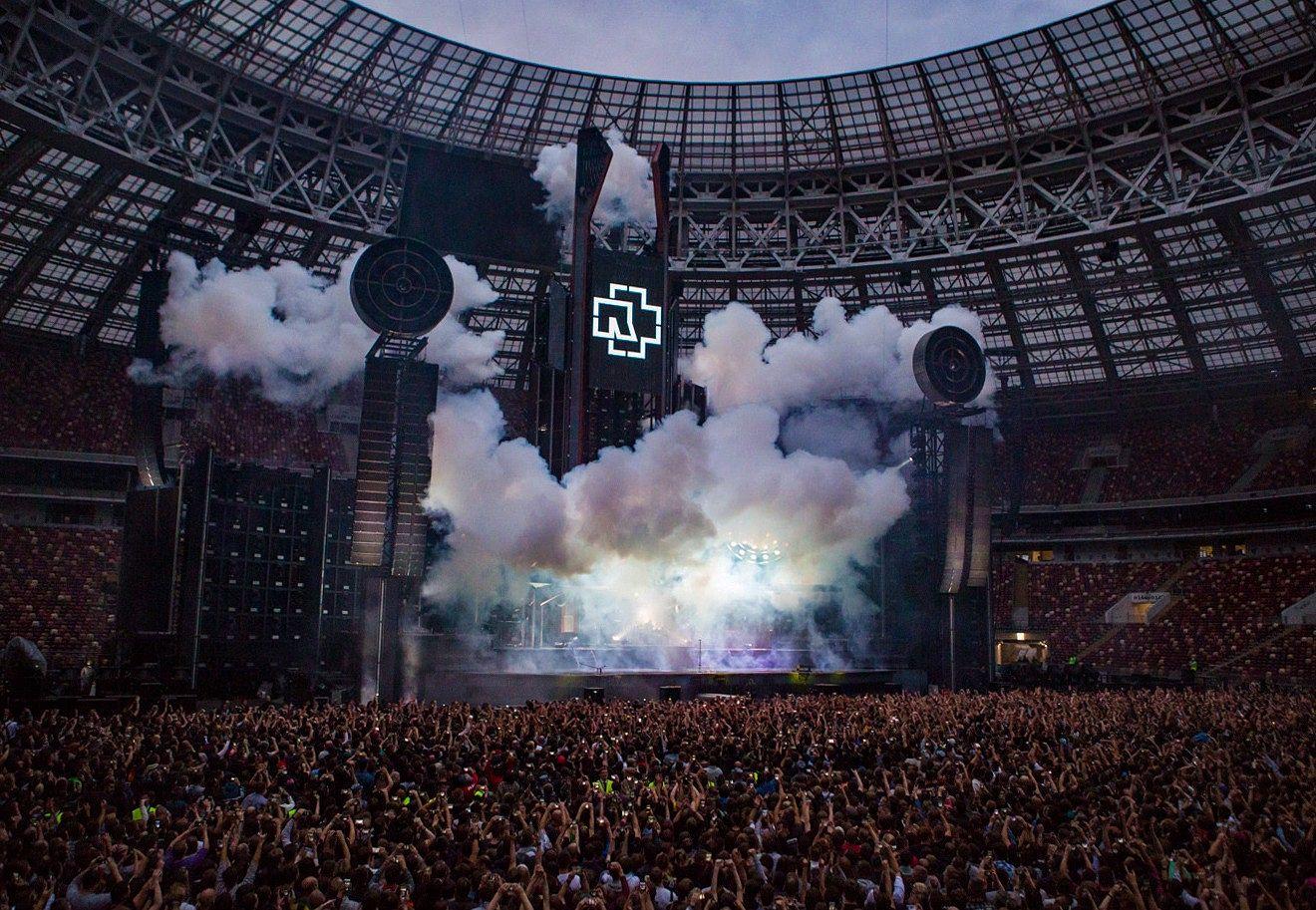 Концерт Rammstein на БСА «Лужники» в 2019 году. Фото: Роман Мовляшев/TCI
