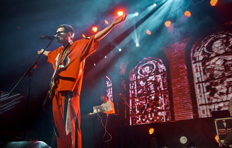 Noize MC 1 ноября 2018 года в «Телеклубе». Фото: Сахар/Телеклуб