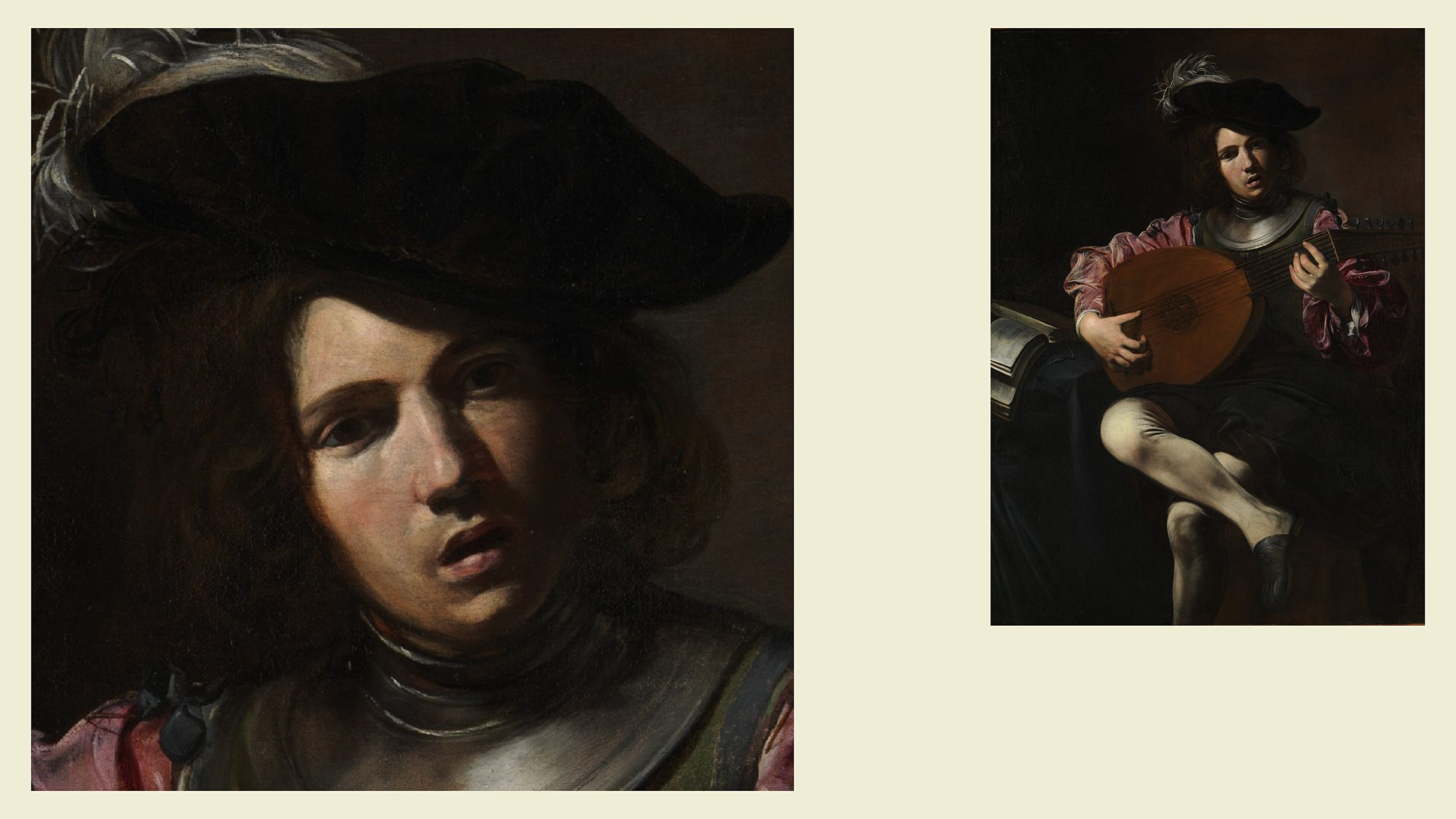 Валантен де Булонь. «Лютнист», ок. 1625–1626. Из коллекции Метрополитен-музея