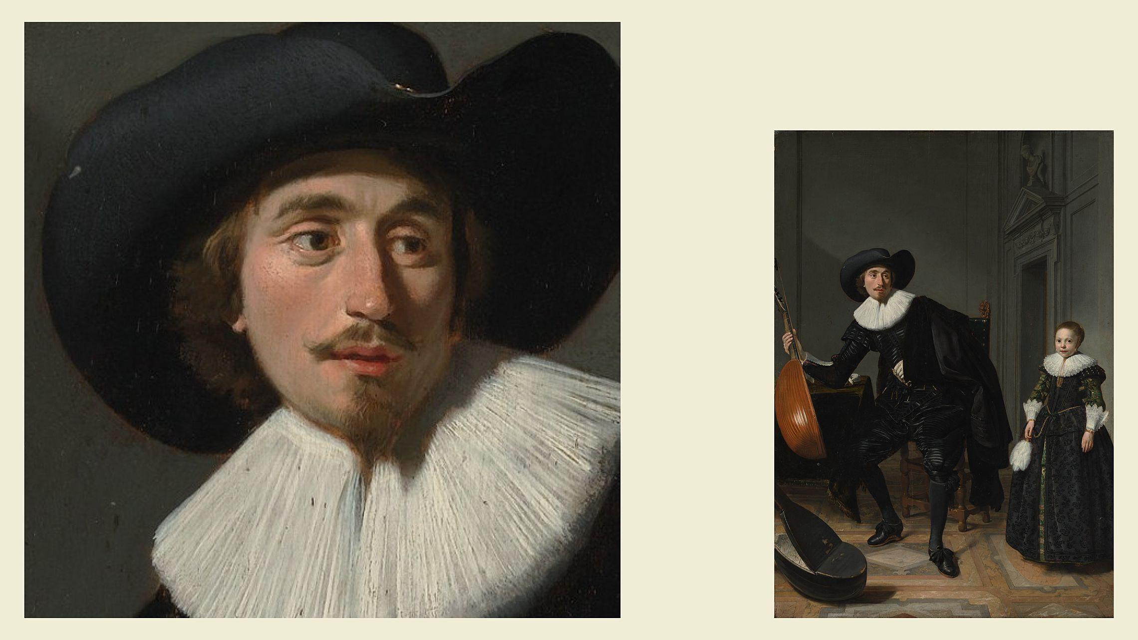 Томас де Кейзер. «Музыкант и его дочь», 1629. Из коллекции Метрополитен-музея