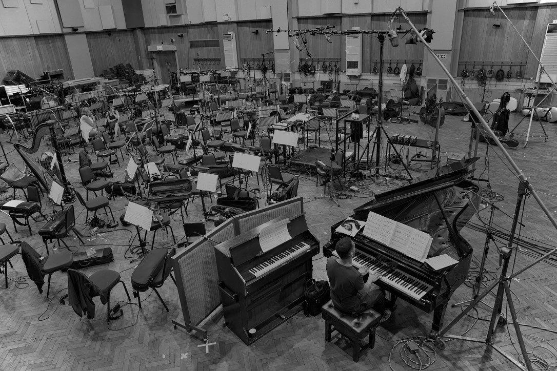 Дмитрий Селипанов на Abbey Road Studios в Лондоне. Фото из личного архива
