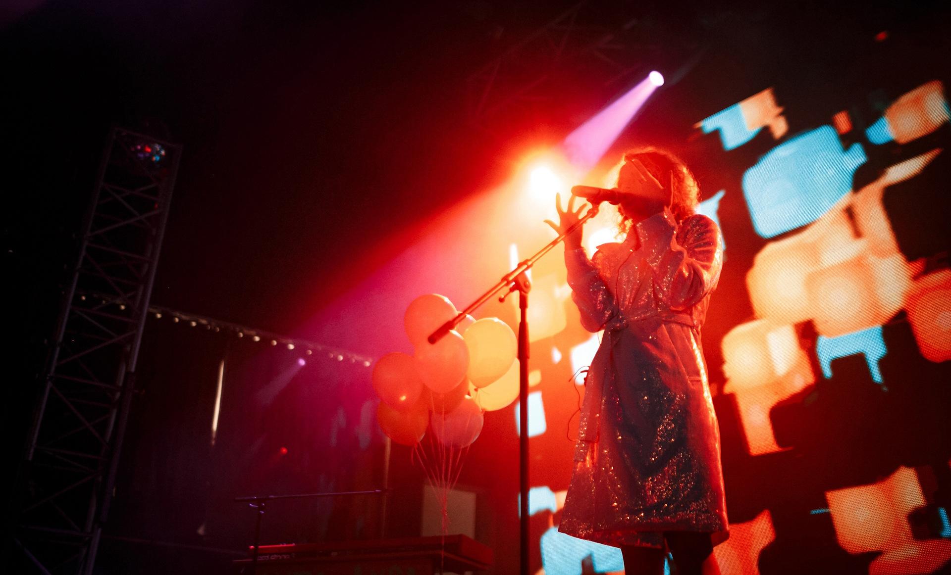 Выступление Монеточки в Milo Concert Hall. Фото: Milo Concert Hall VK